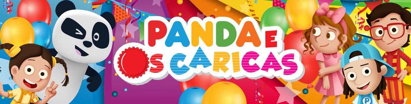 Panda e Caricas Disfarces